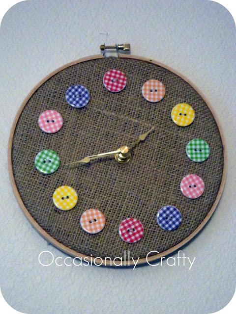 Button Clock 7