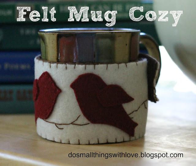 felt mug cozy