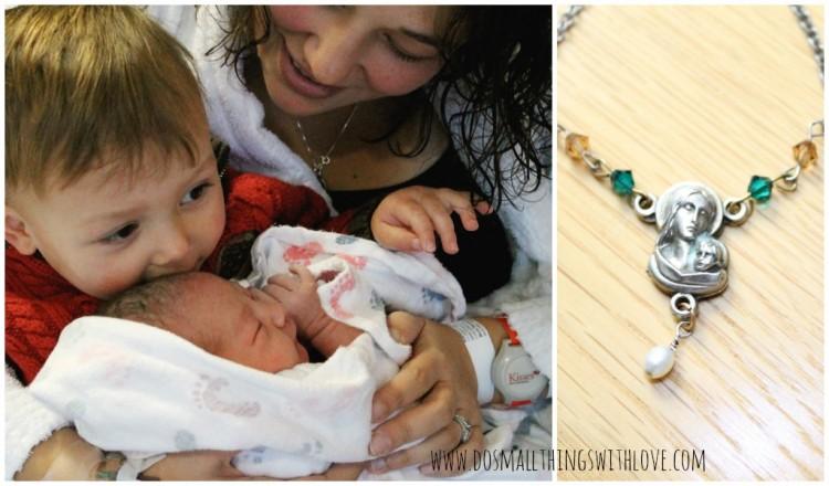 nancy mother's necklace