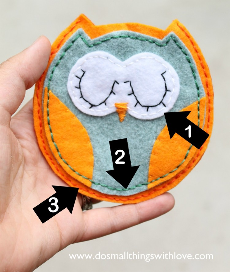 owl pouch how to