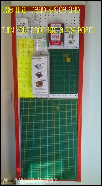 Peg board Door 2