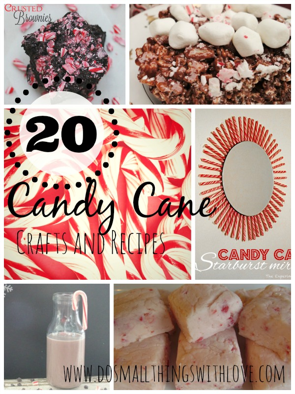 20 CANDY CANE crafts and recipes