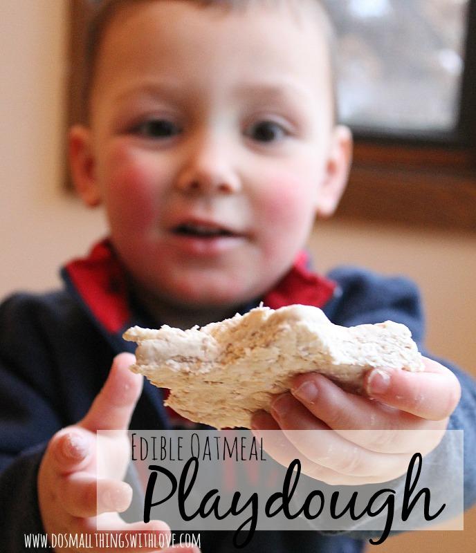 oatmeal playdough