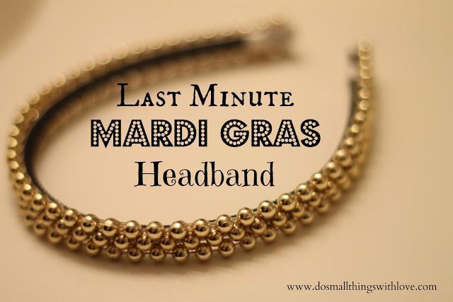 Mardi Gras Headband