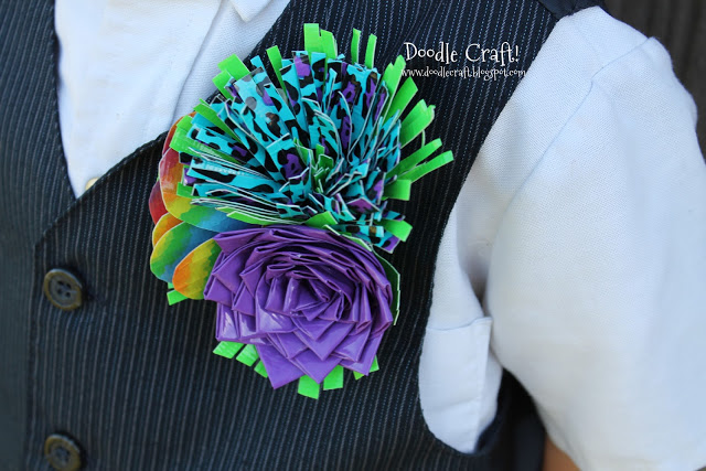 Duck Tape Projects 145 corsage boutineer pinback elastic diy save money cheap prom stuck on duct crafts