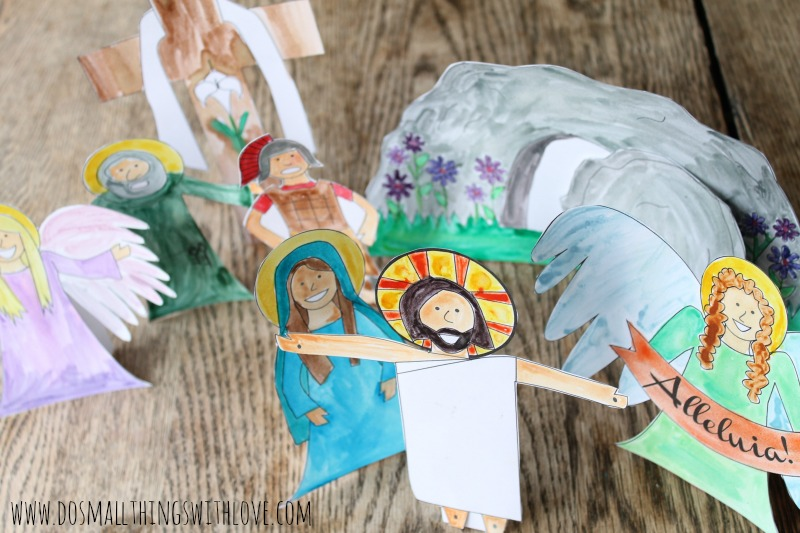 Easter Resurrection Set--Free Printable
