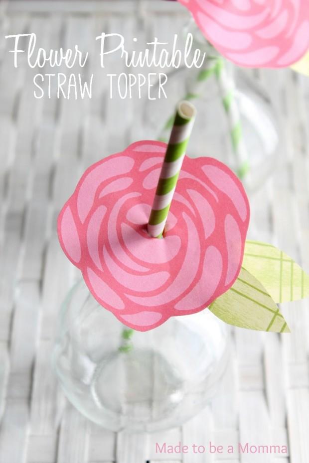 Flower-Printable-Straw-Topper-620x930