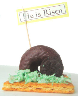empty tomb snack religious easter