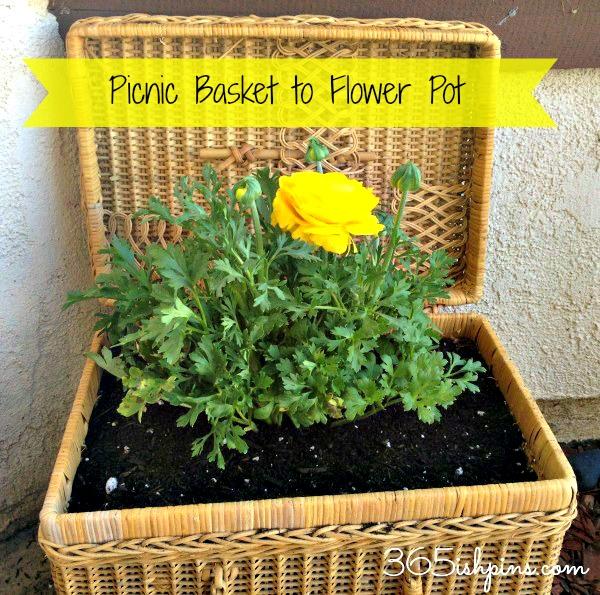 picnic-basket-to-flower-pot