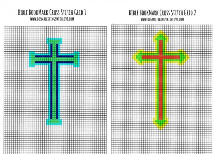 2 cross stitch bible bookmark patterns