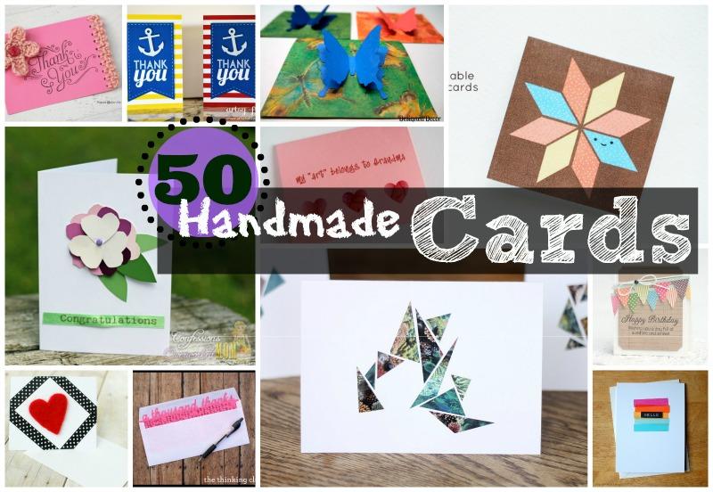 50 Handmade Card ideas