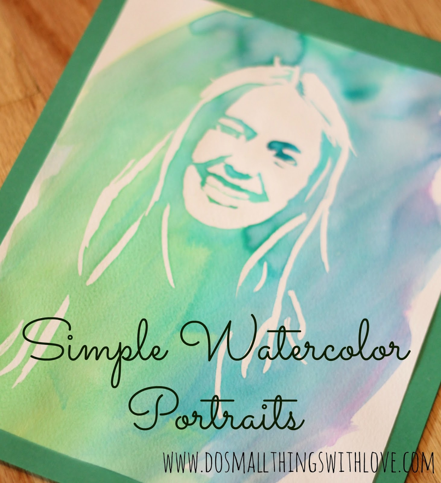 Watercolor Portrait cover