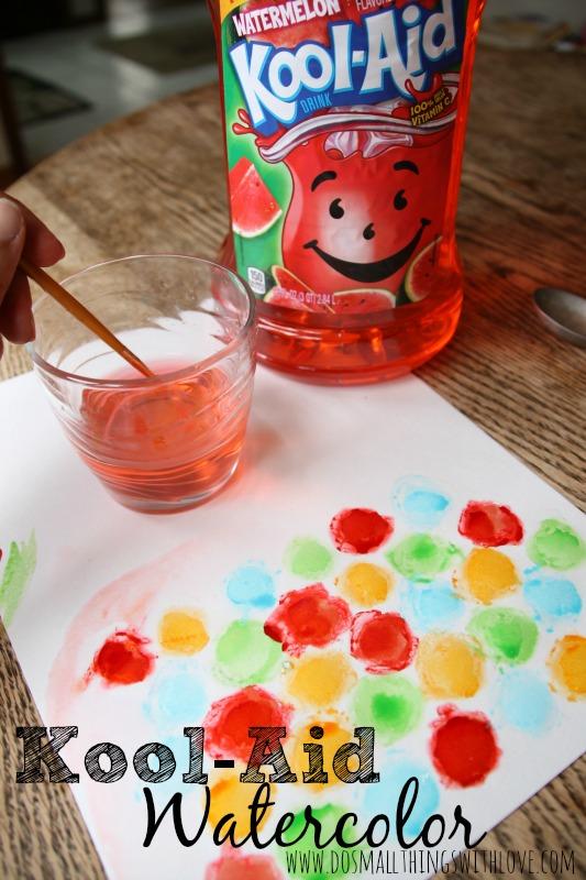 #ad Kool-Aid Watercolor #KoolOff