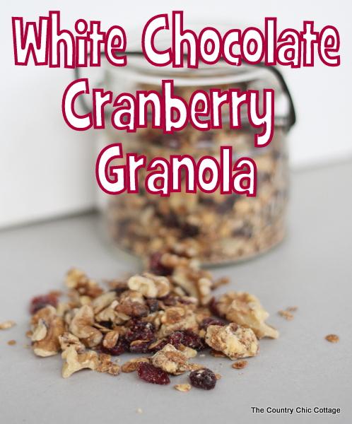 white chocolate cranberry granola (2)