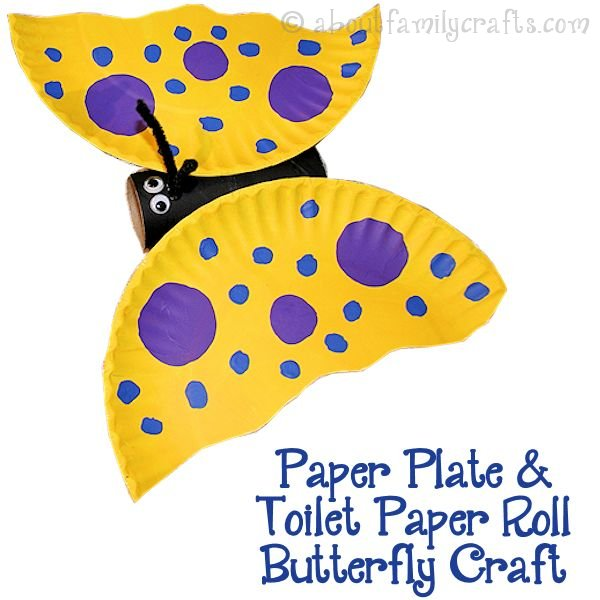 Paper-Plate-Toilet-Paper-Roll-Butterfly-Craft