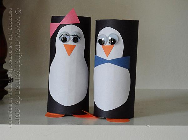 cardboard-penguins