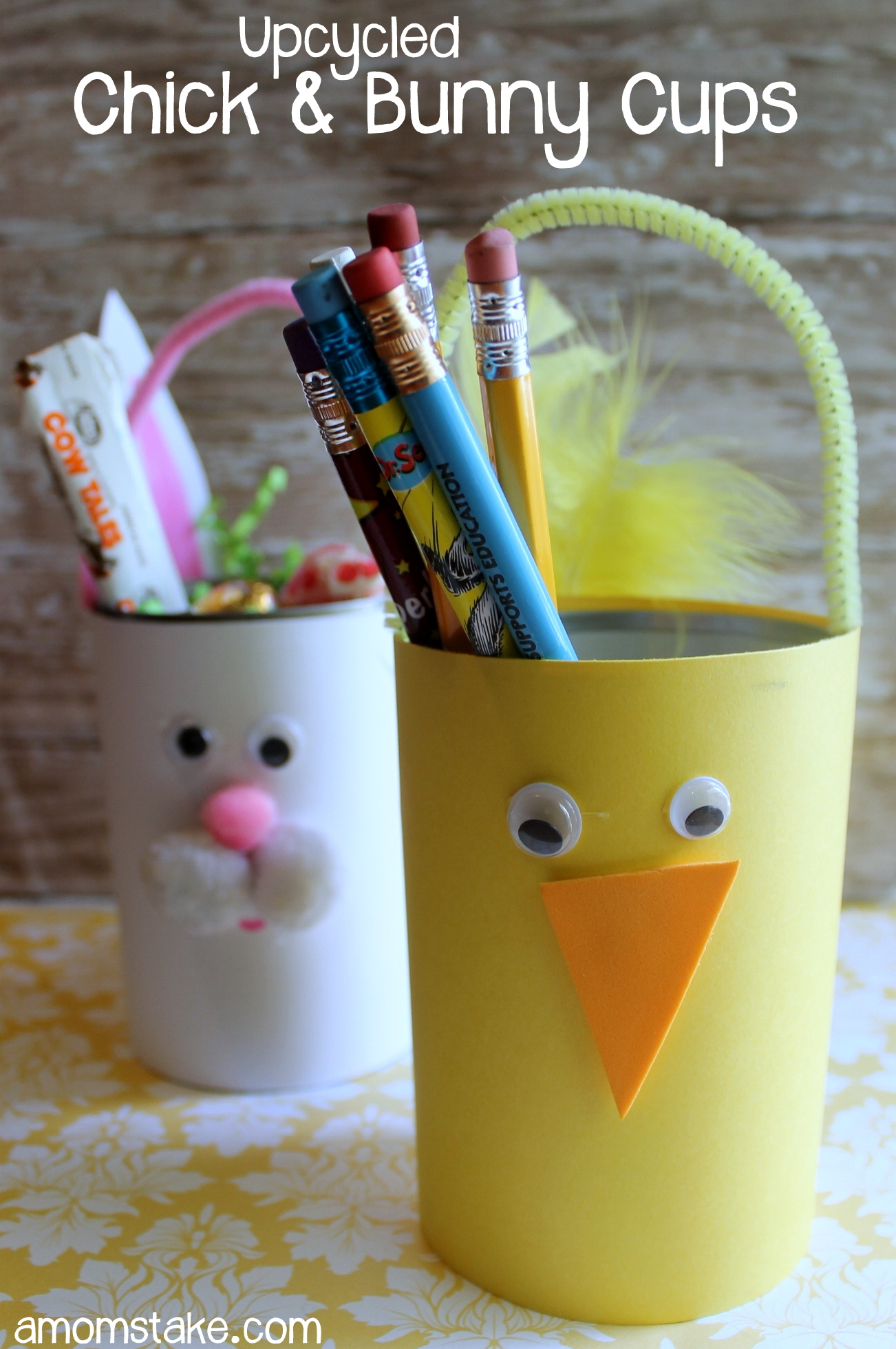 Upcycled-Chick-Bunny-Cups