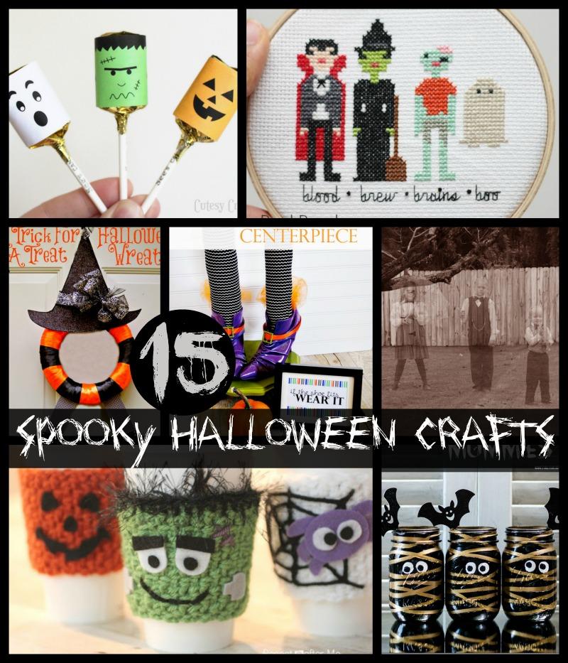15 spooky Halloween Crafts