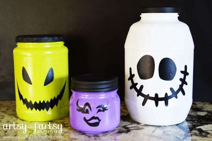 Kids Halloween Jars