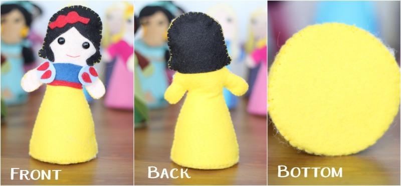 Storybook Princess Doll All Sides