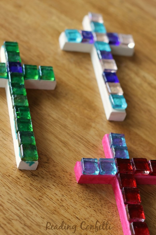 mosaic cross craft 2