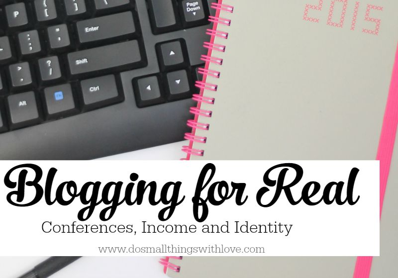 Blogging for real