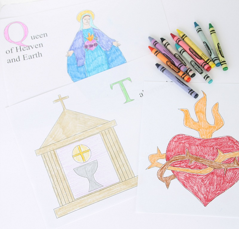 Catholic Coloring Pages Free