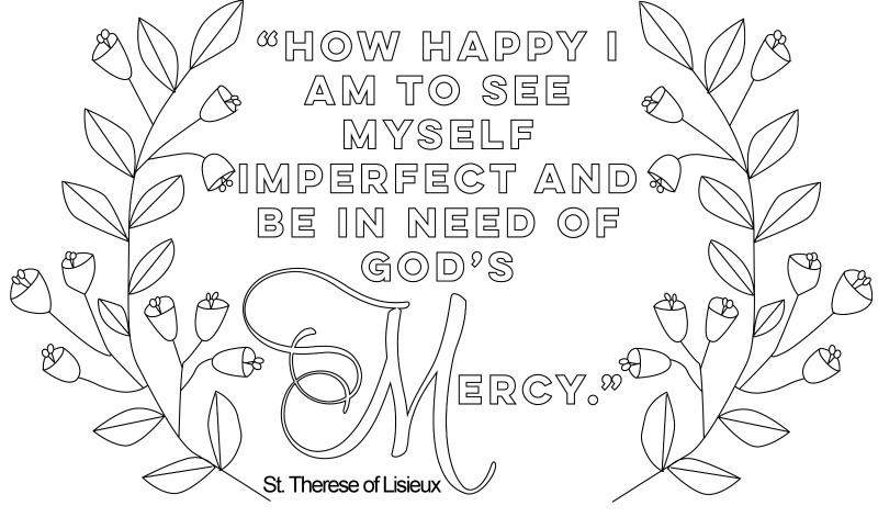 coloring-page-mercy-therese