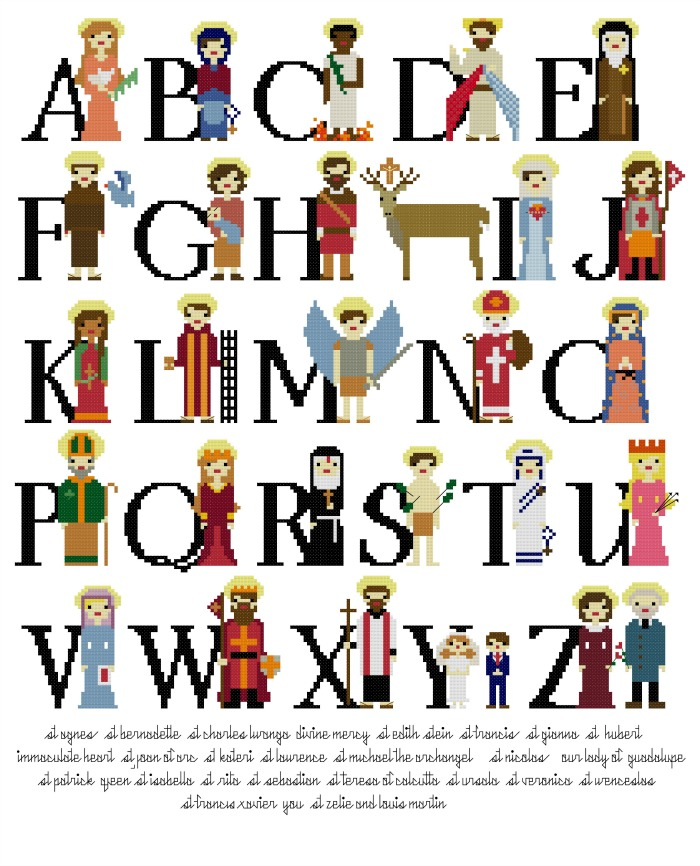 cathoilc-saint-alphabet-sampler-pattern