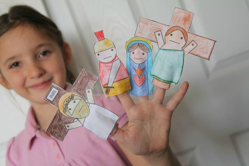 Finger Puppets for Lent Samples